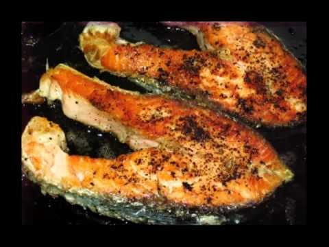 Grilled Salmon Steaks With Lemon Pepper