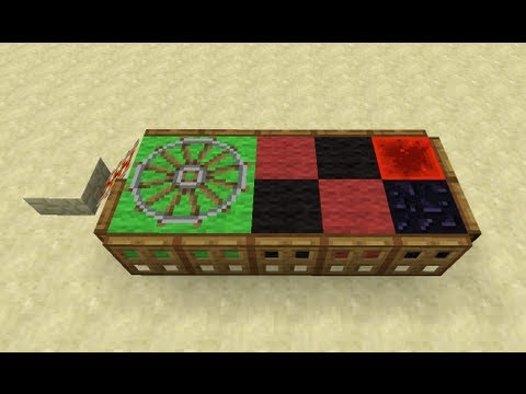 Roulette Table in Minecraft