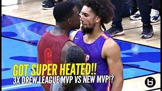 Montrezl Harrel vs Nick Young Drew League DEBUTS!! 3x Drew League MVP Gets SUPER HEATED!!!