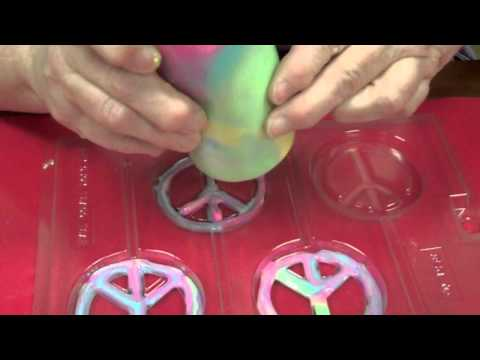 How To Make Peace Sign Lollipops