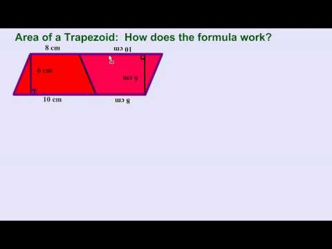 Area of a Trapezoid:  How Does the Formula Work?
