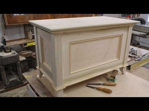 Make a Blanket Chest / Toy Chest - Part 2 - Making the Top by Jon Peters