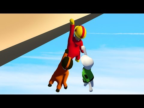HOLD ON OR FALL OFF! (Human Fall Flat)