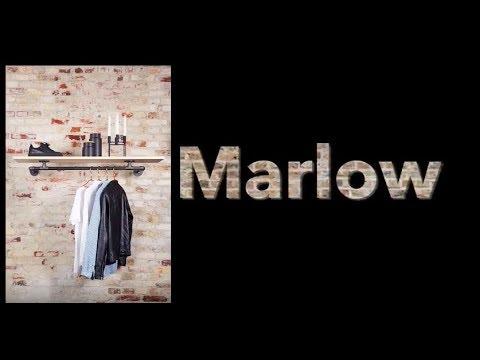 How to build RackBuddy Marlow clothes rack - DIY garderobestativ til væg