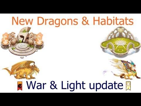 Dragon City - Light & War Update