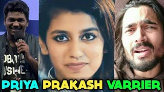 PRIYA PRAKASH VARRIER - BB Ki Vines, Zakir Khan Ashish Chanchalani Reacts To The Viral Girl  
