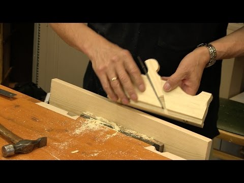 How to Make a Poor Man's Rebate Plane | Paul Sellers