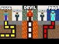 Download  Minecraft Battle: NOOB vs PRO vs DEVIL : SECRET MAZE PRISON ESCAPE Challenge in Minecraft Animation MP3,3GP,MP4