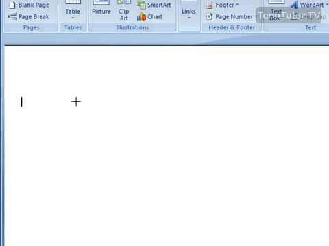 Draw a Freeform Shape in Word 2007