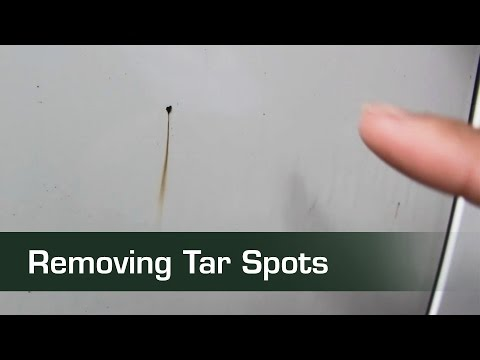 How-to remove tar spots
