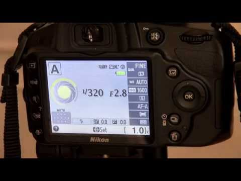 Nikon D3200 Lesson 2 Indoor Settings Aperture Priorty mode