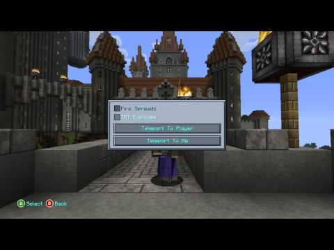 Minecraft Xbox & PS3 - How To Teleport