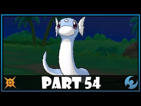 Pokemon Sun and Moon Part 54 - Catching Dratini!