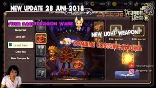 Closet/Lemari Baju !!! Costume & Sayapnya Banyak !!! Dragon Nest Awake