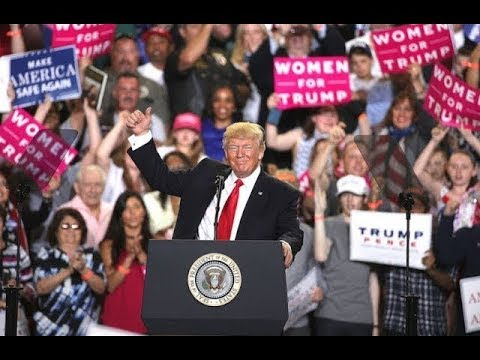 President Donald Trump Gives Amazing Speech in Washington Michigan