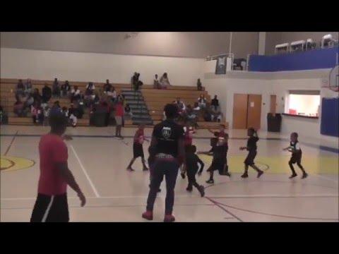 Reds vs Spurs - PAL Jr. Basketball 4/16/16