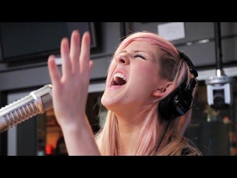 Ellie Goulding - Lights (Acoustic on Ryan Seacrest) | Performance | On Air With Ryan Seacrest