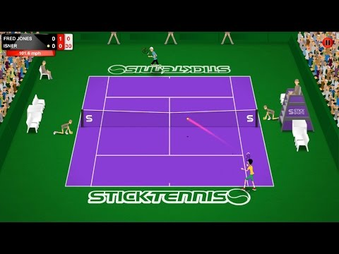 Stick Tennis Tour trailer - Download now on the App Store and Google Play!