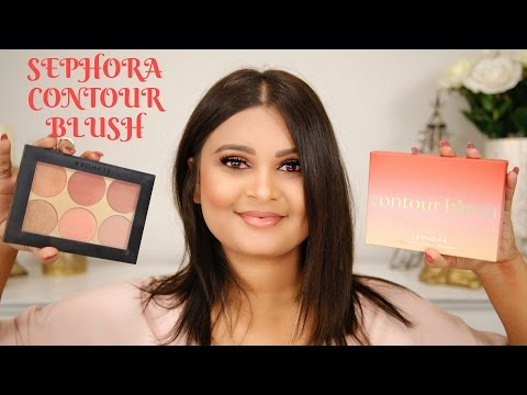 NEW SEPHORA COLLECTION CONTOUR BLUSH PALETTE | REVIEW & SWATCHES
