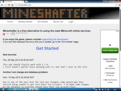 How To Get Minecraft 1.8.1 Offical For Free (Mineshafter Download)