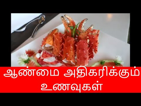 ஆண்மை அதிகரிக்கும் உணவுகள் | How to increase testosterone in Tamil | Aanmai athikarikka foods Tamil