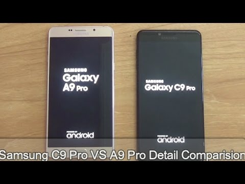 Samsung C9 Pro VS Samsung A9 Pro Detail Comparision !! Full Comparision !! HINDI !!