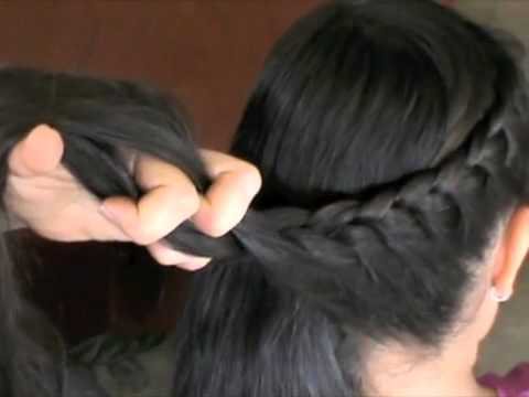 One Sided French Braid | Rapunzels' Mother Hair-Do's and How-To's