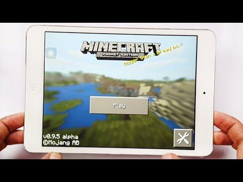 Minecraft Pocket Edition 0.9.5 - Biggest Update Gameplay iOS HD