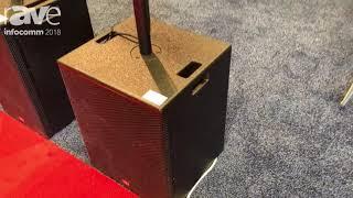 InfoComm 2018: LEEM Presents K5 Portable Column Line Array Speaker