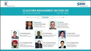 """AIOS Interactive Webinar on """"Glaucoma Management Beyond IOP"""""""