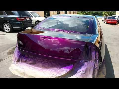 H.O.K. voodoo violet sprayed by me 832.298.5674