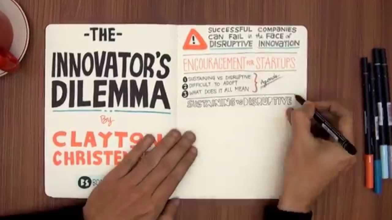 """The Innovator's Dilemma"" by Clayton Christensen - VIDEO BOOK SUMMARY"