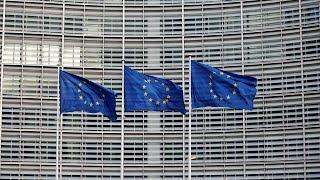 EU foreign ministers meet Palestinian President Abbas