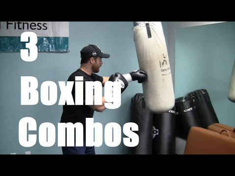 3 Boxing Combinations to Practice with Chad Howse