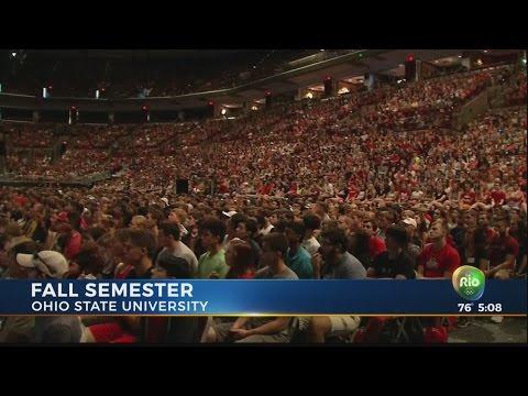 Ohio State welcomes freshman class