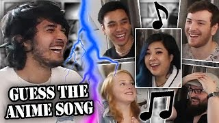 GUESS THE ANIME SONG (feat. akidearest, Gigguk, CDawgVA, Sydsnap & BaronJ)