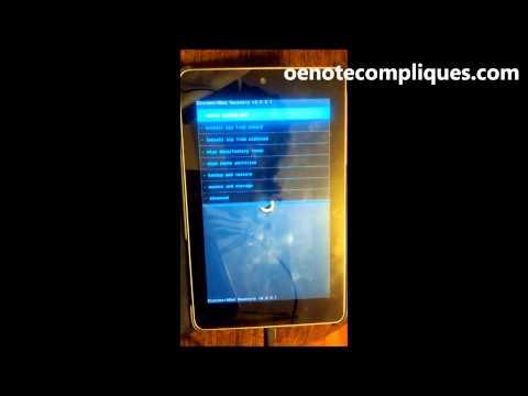 Rootear e instalar CWM a Nexus 7 - ASUS [HD]