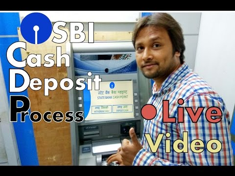 How to Deposit Cash in SBI ATM Machine
