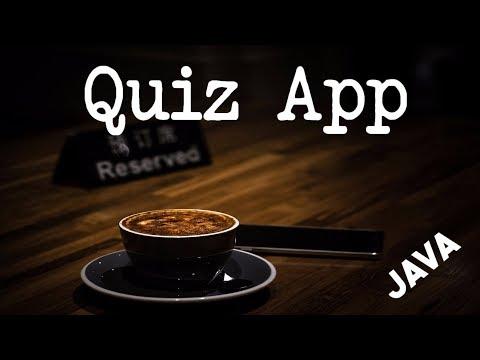 جافا و تطبيق عواصم العالم الجزء الاول  | Java: Quiz App Part 1