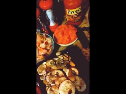 Together, let's make my HOMEMADE Italian Sausage Spaghetti LOADED w/ Veggies