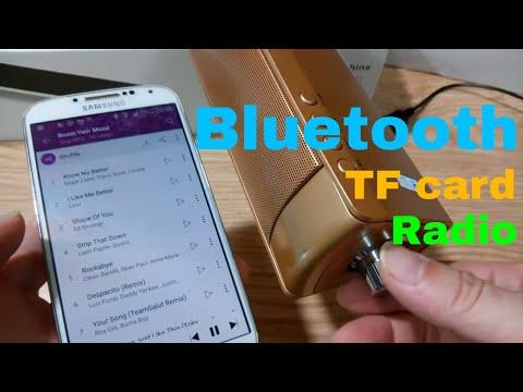 Connect smart phone to Bluetooth Wireless USB Multimedia Soundbar Speaker