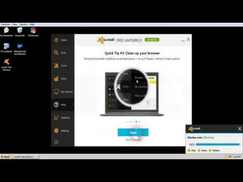 How to Install and register Avast Free Antivirus 2014
