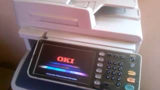 Oki ES 7170 MFP Sostituzione cartuccia toner - PakVim net HD