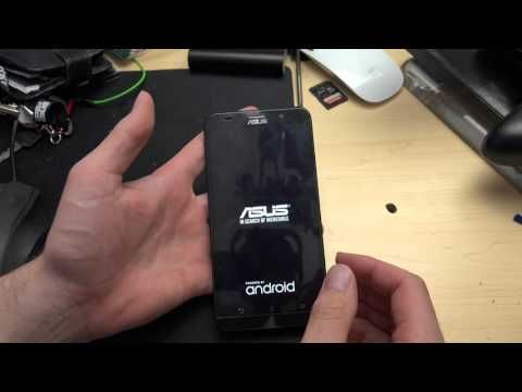 How to force recovery mode asus zenfone 2