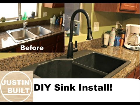 How to install a new sink for Cheap!