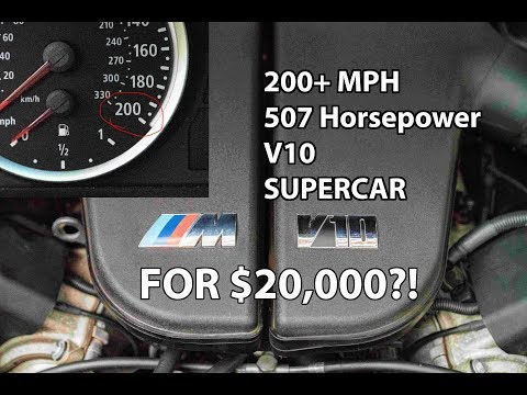 The $20,000 V10 Supercar No One is Buying...