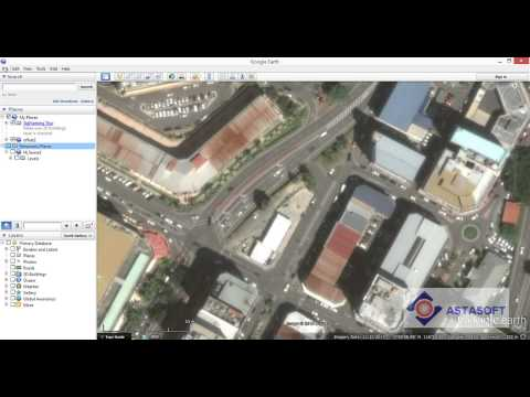 MXV8i - Survey DWG to Google Earth