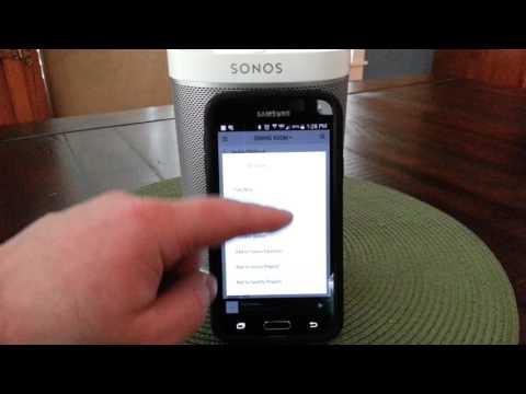 Sonos: Shuffle Spotify Playlists
