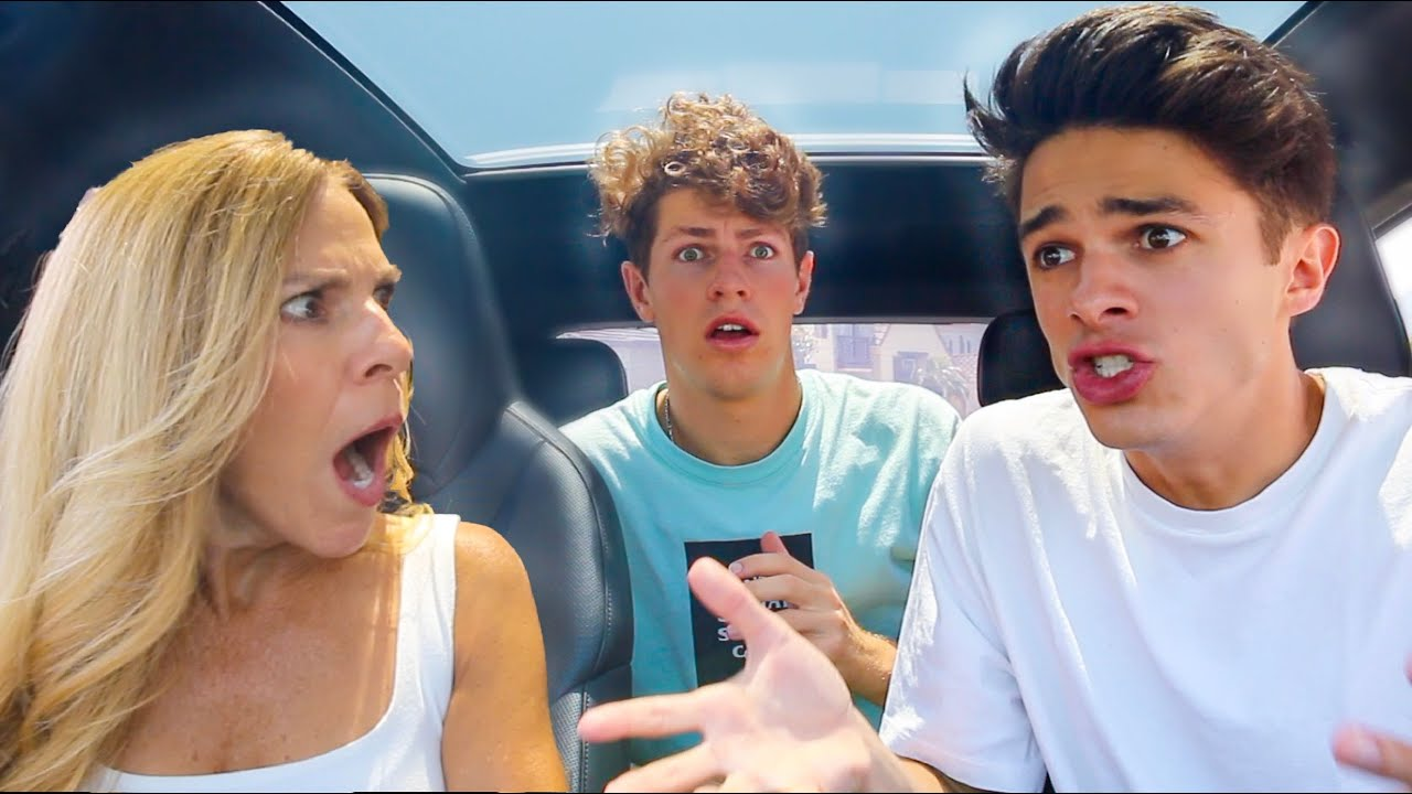 TELLING MY MOM SHUT UP IN FRONT OF MY FRIENDS!!