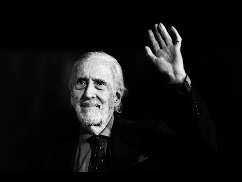 Christopher Lee talks Special Forces and receives an incredible gift